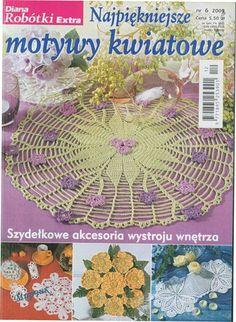 Diana Robotki Exstra № 6 2009 - Мира 8 - Picasa Web Albums Crochet Books, Crochet Doilies, Crochet Hats, Knitting Magazine, Crochet Magazine, Diana, Rubrics, Crochet Earrings, Yandex Disk