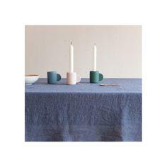 Bougeoir en céramique Bleu Nuit