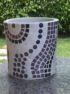 mosaicos vasos