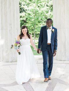 Lauren & Ben's Intimate DC War Memorial Elopement | Capitol Romance ~ Practical & Local DC Area Weddings | Images: Lissa Ryan Photography