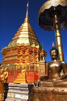 Wat Phra That Doi Suthep - Chiang Mai, Thailand > Looking for personal service in booking your travel arrangements? Give me a call: 01942418290 email: jenny.dickinson@travelcounsellors.com