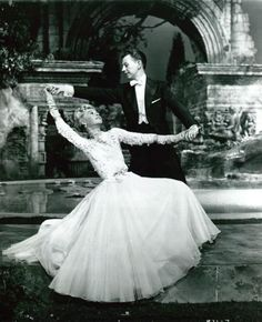 Vera Ellen's dress is so beautiful!