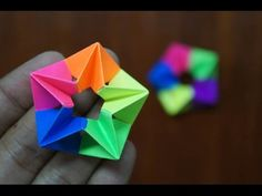 Modular Origami - How to make Modular Complex Star Origami