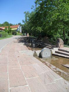 """Water Playground """"Wasserspielplatz"""" Killesberg, Stuttgart"""
