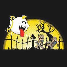 It's Boo versus Mario & Luigi gone Ghostbuster Bros! Ghostbusters, Super Smash Bros, Super Mario Bros, Mario And Luigi, Video Game Art, Video Games, Stop Motion, Geek Stuff, Artwork