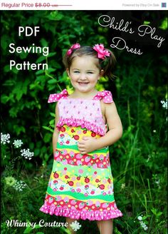 SALE Whimsy Couture Sewing Pattern Tutorial ebook by whimsycouture, $6.00