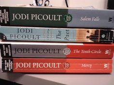 Jodi Piccoult books - I've loved every book of hers that I've ever read