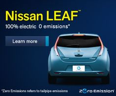 The Electric Leaf...No more trips to the gas pump.