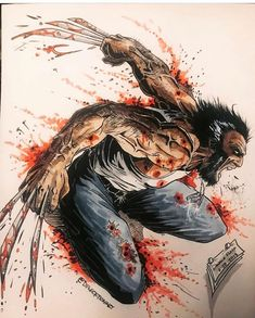 #marvel #marvelcomics #wolverine #logan #x-men #superheroes #adamantium #comicwhisperer