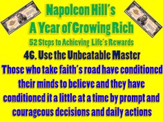 Napoleon Hill's A Year of Growing Rich: 52 Steps to Achieving Life's Rewards - Sincerity Napoleon Hill Quotes, Success Principles, Positive Mental Attitude, Think And Grow Rich, Parenting Fail, Look In The Mirror, Humility, A Blessing, Get The Job