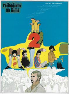 TOMBOLARE — Reflections on Films Taken from Careers Today,... Graphic Illustration, Graphic Art, Create Meaning, 70s Sci Fi Art, Political Posters, Yellow Submarine, Film Posters, Paul Mccartney, Illustrations Posters