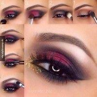 Das ist das perfekte Augen Make-up für Silvester!