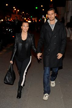 Kourtney Kardashian Photo - Kourtney Kardashian and Scott Disick in Paris