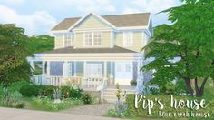 The Plumbob Architect: Blue Creek House - Pip's house • Sims 4 Downloads