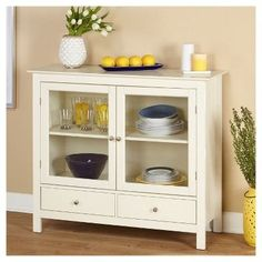 Claire Cabinet - White - Target Marketing Systems