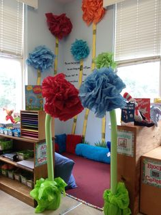 Reading corner... Dr. Seuss!