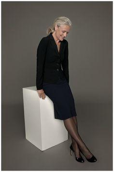 Zenggi heeft voor de Fall 2011 collectie samengewerkt met het Deense model Pia Gronning (61). Zij werd gefotografeerd door Miep Jukkema.