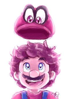 Mario Odyssey by rainmaker 133