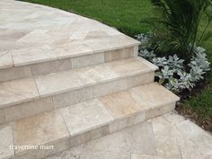 Travertine pavers from Travertine Mart
