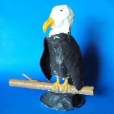 fun and patriotic social studies craft activity for kids American Bald  Eagle
