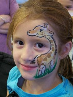 small zoo animals face painting | Zoo Animal Party « CC Carnival and Event Planning KC CC Carnival ...