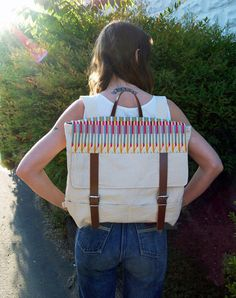 I really love this bag. How great would it be for bike commuting?
