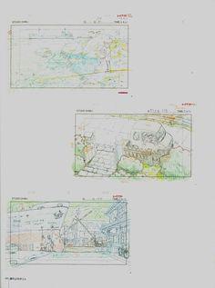 Living Lines Library: 崖の上のポニョ / Ponyo (2008) - Layout Design