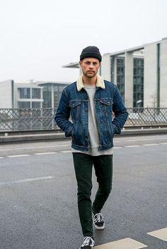 Denim Jacket Outfits Men Google Search Fashion Mens Fashion