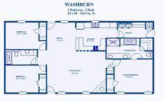 David's Ready Built Homes - 3 Bedroom Plans