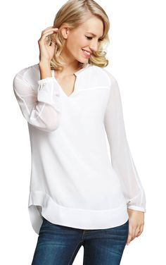 Allure Blouse - CAbi Fall 2014 Collection