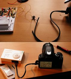 When I saw Victor W.'s Do-it-yourself projects, I decided to try something myself. With a little (ok, with a lot) of help from Victor I built this radio remote for my EOS 450D. I knew that the plug that the original cable release has is an usual 2.5m Công ty Viettel IDC. Trụ sở chính. Địa chỉ: Tầng 5 nhà CIT, đường Duy Tân, phường Dịch Vọng Hậu, quận Cầu Giấy, Hà Nội