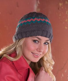 Chevron Sparkle Hat
