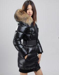 Black downcoat