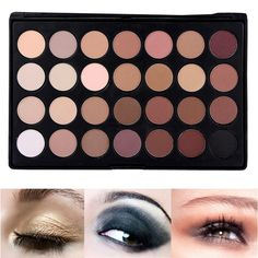 28 Colors Eye Shadow Palette Makeup Shimmer Matte Eyeshadow Set Cosmetic Set Eyes Shading Contour Concealer Professional Palette