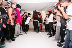 Custom coffin for grand entry - Halloween party - PC: Shani Barel Design/Planning by DB Creativity