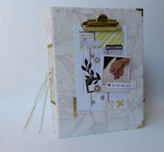 scrapbooking, album di matrimonio (wedding photo book)