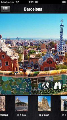 Barcelona, Spain | Travel App | by http://www.etips.com