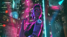 Night Out by David Legnon on ArtStation.