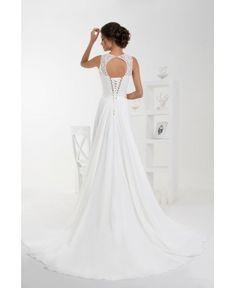 Dlhé svadobné šaty na objednávku šité na mieru na predaj - Salonevamaria.sk