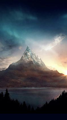 Erebor, the lonely mountain