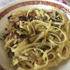 Italian Pasta, Italian Dishes, Italian Recipes, Pasta Recipes, Cooking Recipes, Healthy Recipes, Polenta, Pancetta, Food And Drink