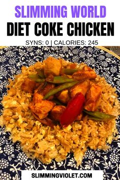 Slimming world diet coke chicken pin Diet Coke Chicken Slimming World, Slimming World Dinners, Slimming World Chicken Recipes, Slimming World Recipes Syn Free, Slimming World Diet, Slimming Eats, Eclair, Diet Recipes, Healthy Recipes