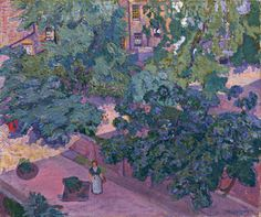 Spencer Gore. <em>The Fig Tree,</em> 1912. Oil on canvas 635 x 762 mm. Bequeathed by JW Freshfield. © Tate