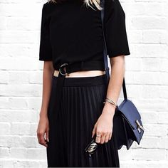 pleats #minimal #style #outfit