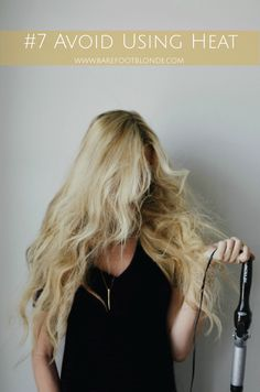 13 Ways To Grow Out Your Hair. I think I'll try most of these and see what happens. I've already started the no heat except for a hair dryer.