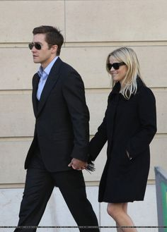 Jake Gyllenhaal with Reese Witherspoon, 2009 - Shopping At Nina Ricci In Paris