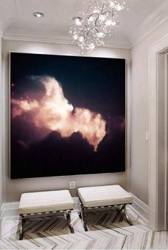 Shop Corinne Melanie Art cloud paintings and abstract art, perfect for personal or professional interior design projects. Original paintings and fine art prints available. Homemade Art, Home And Deco, Large Art, Light Art, Art Studios, Art Pictures, Home Art, Canvas Wall Art, Clouds