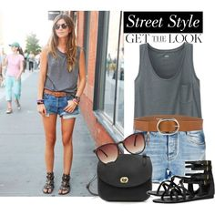 Summer Fashion Simple Street Style