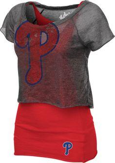 Philadelphia Phillies Women's Double Hit Top LOVE LOVE LOVE this!!!!!