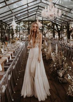 Country Wedding Dresses, Boho Wedding Dress, The Reporthair, Bridal Gowns, Wedding Gowns, Wedding Shoes, Bouquet Wedding, Wedding Venues, Wedding Rings
